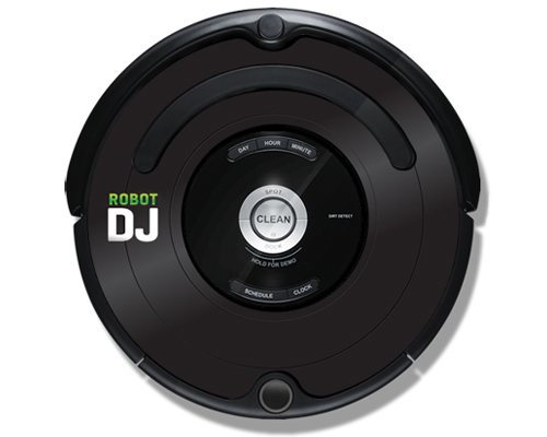 iRobot Roomba 500/600 iDress Funky Boy