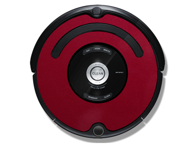 iRobot Roomba 500/600 iDress Mystic Red Metallic