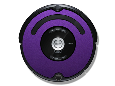 iRobot Roomba 500/600 iDress Purple Metallic