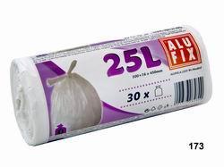 Vrecia 25L do odpadkových košov so zaväzovaním