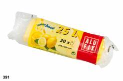 Vrecia 25L do odpadkových košov s arómou citróna