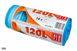 Vrecia 120L do odpadkových košov so zaťahovacou páskou