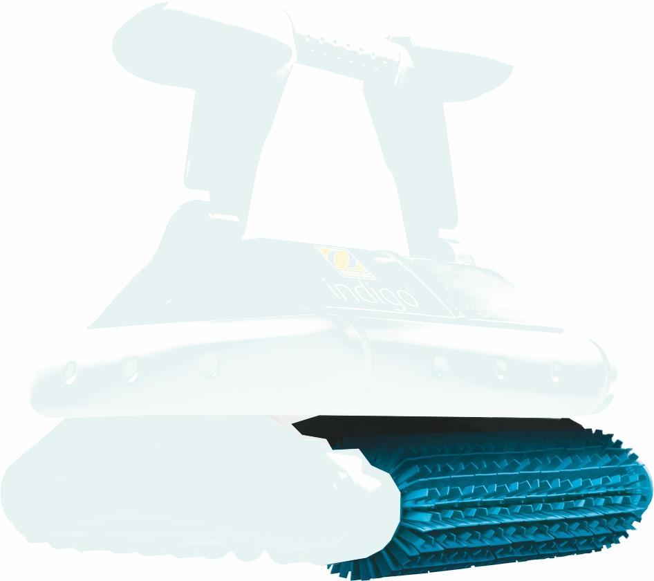 Kefy pryžové pre Zodiac INDIGO - 1 ks
