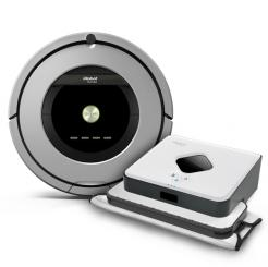 iRobot Roomba 886 + Braava 390t