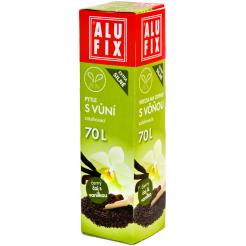 Vrecia 70L do odpadkových košov so zaťahovaním s arómou čaju s vanilkou