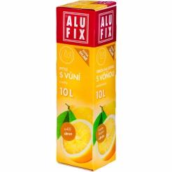 Vrecia 10L do odpadkových košov s uchami s arómou citróna
