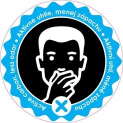 Patróna s uhlím proti zápachu pre koše HiMAXX