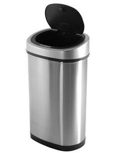 Bezdotykový kôš Helpmation OVAL 80 litrov (DZT80-4R) na triedený odpad
