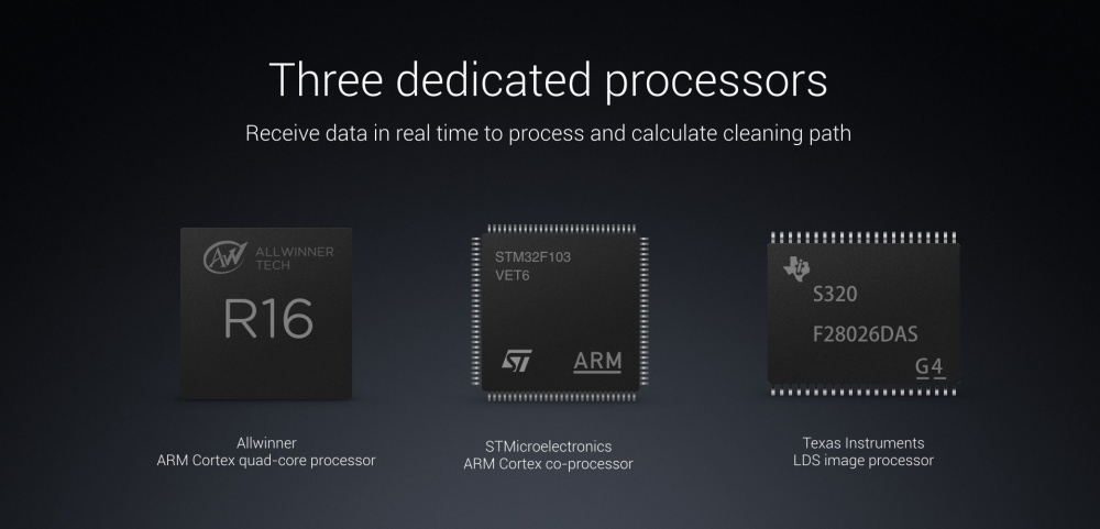 xiaomi roborock sweep one s50 processors