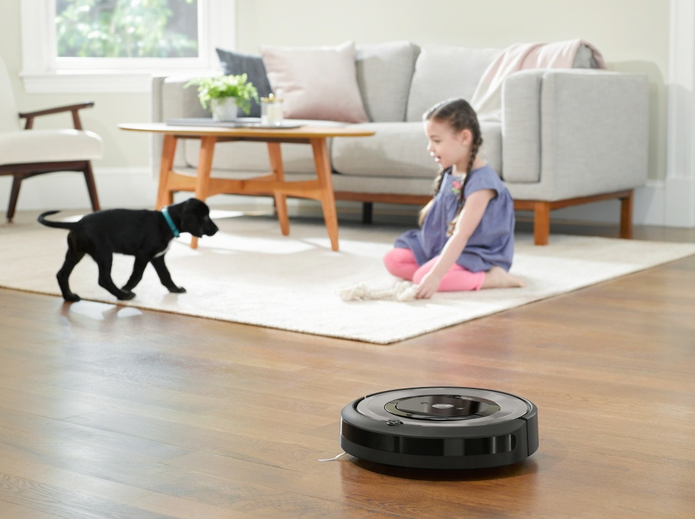 iRobot Roomba e5 silver antitangle