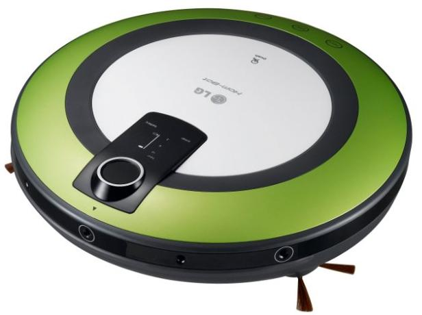 LG VR5906LM - zelený - Robotický vysávač