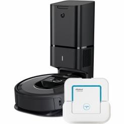 iRobot Roomba i7+ a Braava jet 250