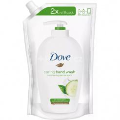 Tekuté mydlo Dove Cucumber & Green tea – náhradná náplň