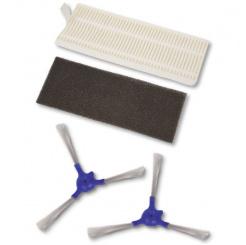 Sada filtrov a bočných kefiek pre Rowenta séria 40