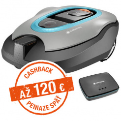 Robotická kosačka Gardena Sileno+ 1600 smart - Cashback 120 €