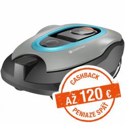 Robotická kosačka Gardena Sileno+ 1600 - Cashback 120 €