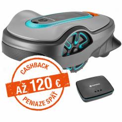 Robotická kosačka Gardena Sileno life 850 smart - Cashback 105 €