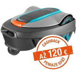 Robotická kosačka Gardena Sileno city 250 - Cashback 75 €