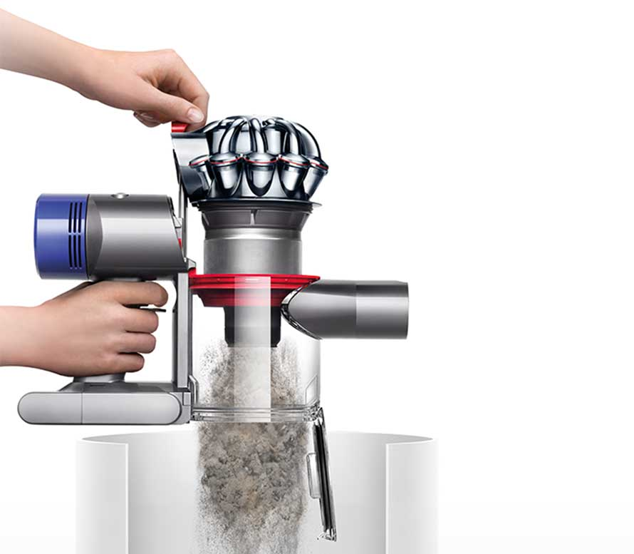 Dyson V8 Animal + dust bin