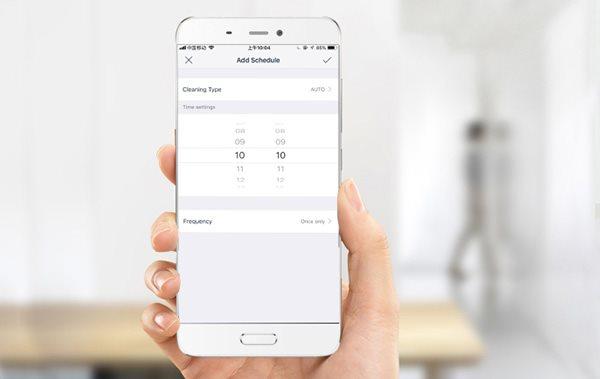 Ecovacs Deebot OZMO T8+ mobilná aplikácia