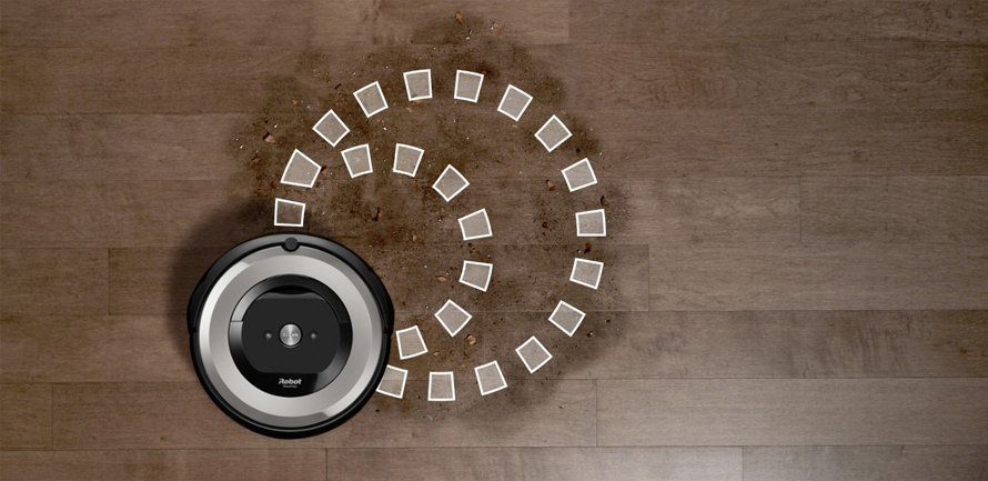 iRobot Roomba e5 silver program SPOT