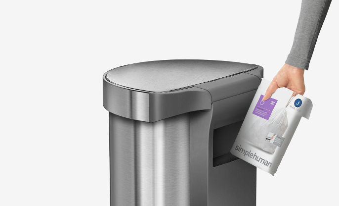 odpadkové vrecia typu H - Simplehuman