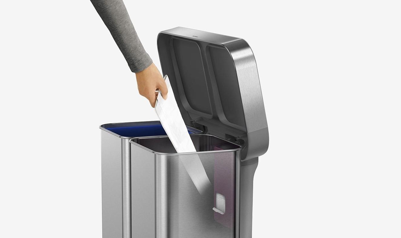 kos na triedeny odpad kovovy