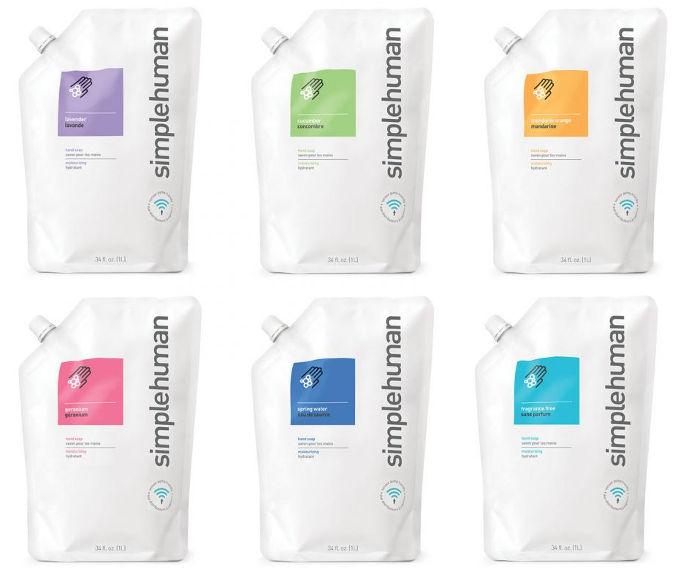 Simplehuman neparfumované tekuté mydlo - 1L