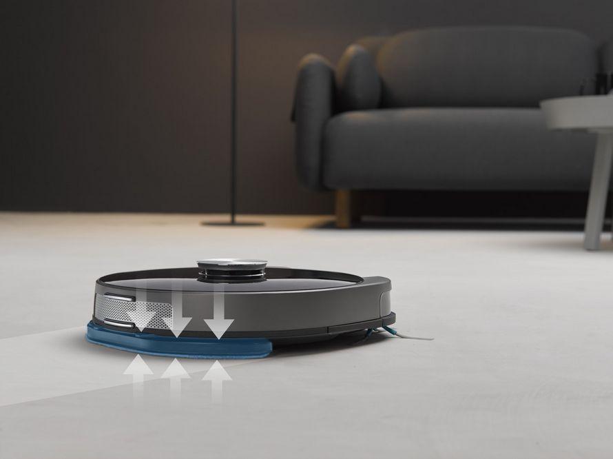 Symbo laserbot 750 - funkcia mopovania