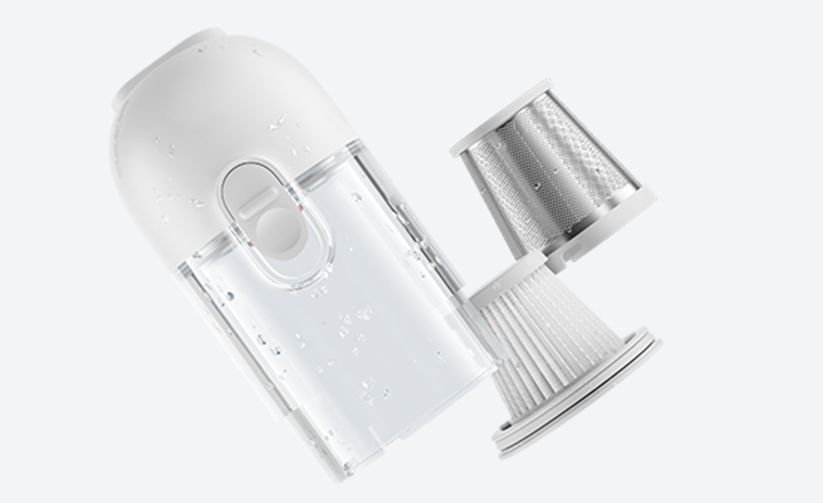 Xiaomi Mi Vacuum Cleaner Mini Účinná filtrácia